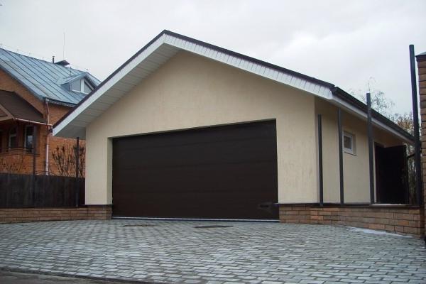 Проект строительства гаража из пеноблоков